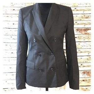 J. Crew Double Breasted Blazer in Super 120s Wool